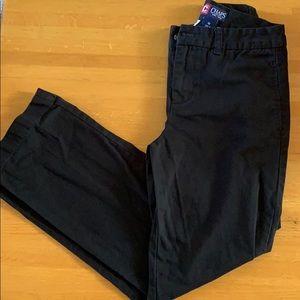 EUC, Chaps Black Pants, Boys, Size 10